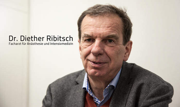 Portrait Dr. Diether Ribisch
